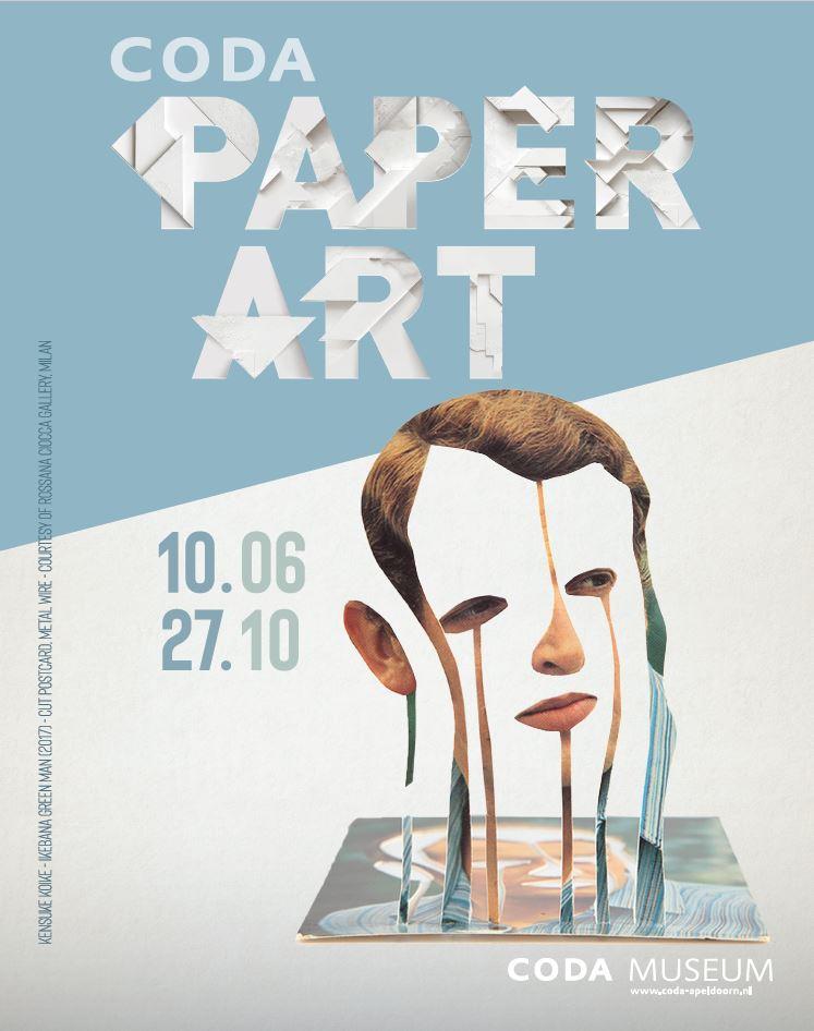 Coda paper art kunst