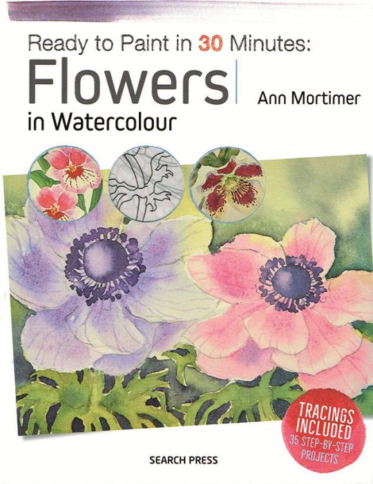Omslag boek met bloemen