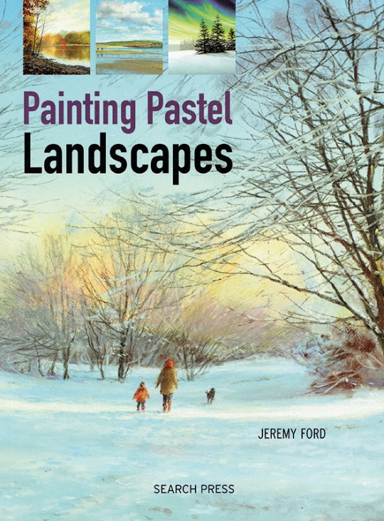 Omslag boek met winterlandschap