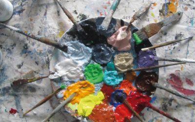 Abstract schilderen vanuit een doel