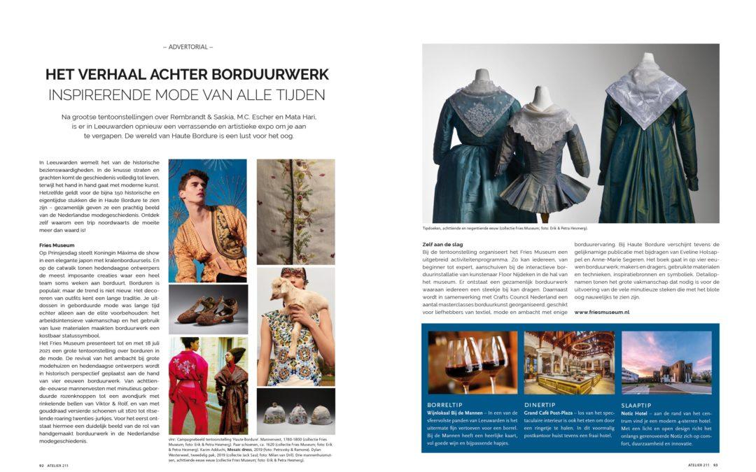 FRIES MUSEUM: Inspirerende mode van alle tijden. t/m 18 juli 2021