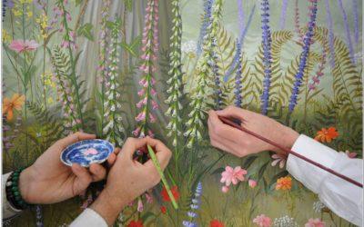 Ontwerpwedstrijd van Westfries Museum bij expositie over beschilderd behang